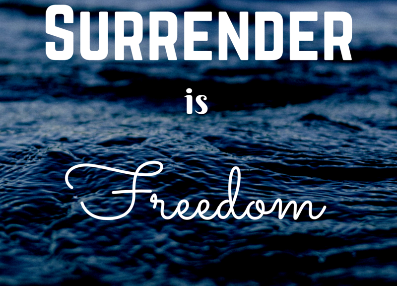 Surrender-is-Freedom